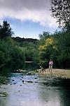 Carmel River, Garland Ranch Regional Park, Carmel Valley, Monterey County, California