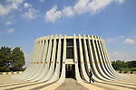 Israel, Kennedy Memorial in Jerusalem mountains