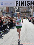 Simon Ryan winner of the Boyne 10K. Photo: Colin Bell/pressphotos.ie