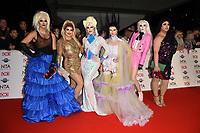 RuPaul's Drag Queen<br /> arriving for the National TV Awards 2020 at the O2 Arena, London.<br /> <br /> ©Ash Knotek  D3550 28/01/2020