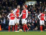 Arsenal's Aaron Ramsey looks on dejected after going 2-1 down<br /> <br /> Barclays Premier League- Tottenham Hotspurs vs Arsenal  - White Hart Lane - England - 7th February 2015 - Picture David Klein/Sportimage