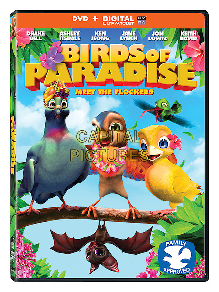DVD COVER ART<br /> in Birds of Paradise (2014)<br /> *Filmstill - Editorial Use Only*<br /> CAP/FB<br /> Image supplied by Capital Pictures