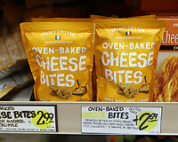 Jacksonville, FL August 1st: Trader Joe's declines to change the names of some of its products after an online petition denounced them as racist.  Trader Giotto's Oven-Baked Cheese Bites.  Jacksonville, Florida on August 1st, 2020 Credit: Edward Kerns II/MediaPunch