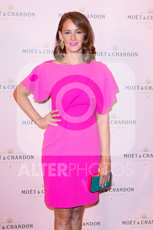 "Ana Polvorosa attends the ""Moon Night Party"" of Moët & Chandon at Casino in Madrid, Spain. September 17, 2014. (ALTERPHOTOS/Carlos Dafonte)"