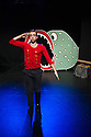 London, UK. 16.12.2014. Peut-etre Theatre present THE TIN SOLDIER, a show for children, at the Roundhouse. Picture shows: Alistair Goldsmith. Photograph © Jane Hobson.