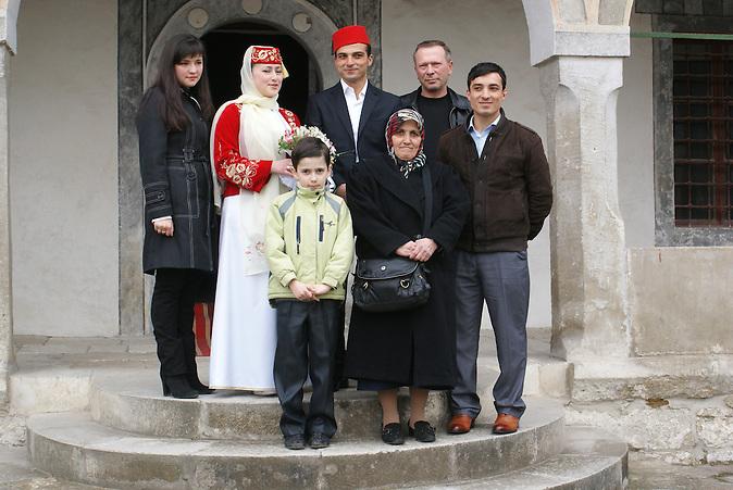 Traditionelle tatarische Hochzeit
