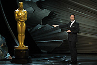 Host Jimmy Kimmel during the live ABC Telecast of The 90th Oscars&reg; at the Dolby&reg; Theatre in Hollywood, CA on Sunday, March 4, 2018.<br /> *Editorial Use Only*<br /> CAP/PLF/AMPAS<br /> Supplied by Capital Pictures