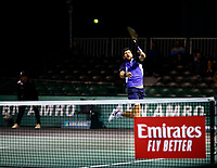 Rotterdam, The Netherlands, 11 Februari 2020, ABNAMRO World Tennis Tournament, Ahoy, <br /> Jurgen Melzer (AUT).<br /> Photo: www.tennisimages.com