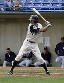 April 21, 2004:  Drew Macias of the Fort Wayne Wizards, Midwest League (Low-A) affiliate of the San Diego Padres, during a game at Memorial Stadium in Fort Wayne, IN.  Photo by:  Mike Janes/Four Seam Images
