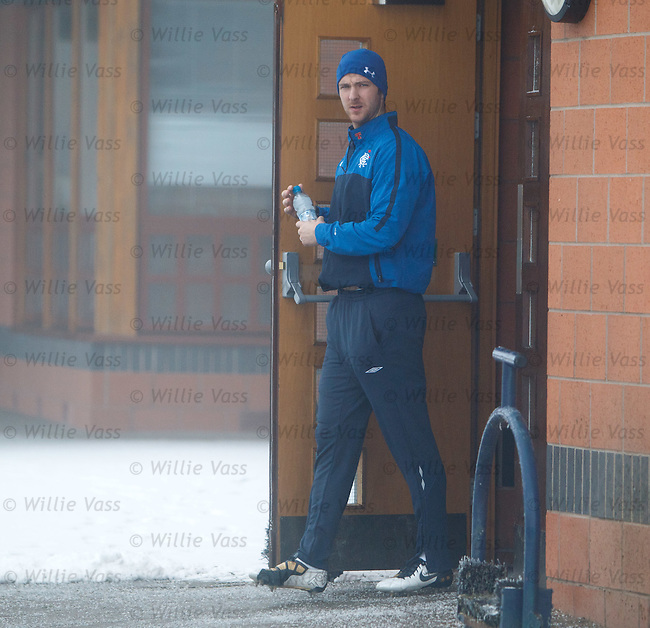 Andy Webster ventures out into the cold