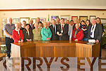 CIVIC RECEPTION: Chairman Robert Groves with the member's of the Kerry County Fair committee who celebrate their 60th Anniversary receiving a Civic Reception from Mayor Ted Fitzgerald at Tralee Town Hall on Friday.