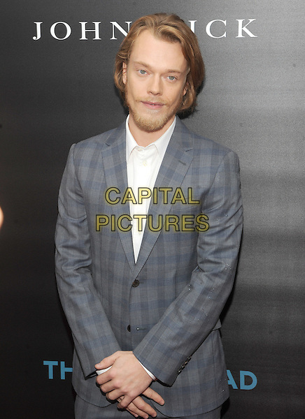 New York, NY- October 13: Alfie Allen attends the Summit Entertainment and Thunder Road Pictures New York screening of John Wick at the Regal Union Square on October 13, 2014 in New York City.  <br /> CAP/RTNSTV<br /> &copy;RTNSTV/MPI/Capital Pictures