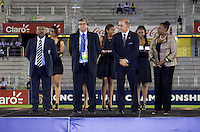 dignitaries. The United States defeated Canada, 3-0, during the final game of the CONCACAF Men's Under 17 Championship at Catherine Hall Stadium in Montego Bay, Jamaica.