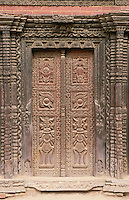 Although the walls may be cracking and repairs have not been carried out for years, the carving of many of the doors, windows and balconies in Bhaktapur is still magnificent.