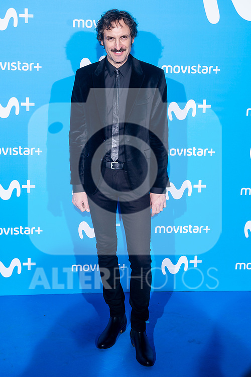 Julian Villagran attends to blue carpet of presentation of new schedule of Movistar+ at Queen Sofia Museum in Madrid, Spain. September 12, 2018. (ALTERPHOTOS/Borja B.Hojas)