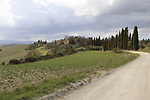 The 2019 Strade Bianche running 184km from Siena to Siena, held over the white gravel roads of Tuscany, Italy. 8th March 2019.<br /> Picture: Eoin Clarke | Cyclefile<br /> <br /> <br /> All photos usage must carry mandatory copyright credit (&copy; Cyclefile | Eoin Clarke)
