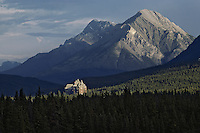 Banff Springs Hotel, Banff National Park, Alberta, Canada.  Summer.