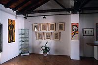 Spanien, Andalusien, im Geburtshaus von Lorca in Fuentevaqueros