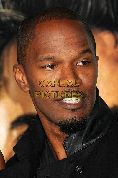 "JAMIE FOXX .""Due Date"" Los Angeles Premiere held at Grauman's Chinese Theatre, Hollywood, California, USA,.28th October 2010..portrait headshot black   goatee facial hair .CAP/ADM/BP.©Byron Purvis/AdMedia/Capital Pictures."