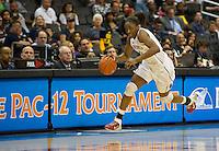 LOS ANGELES, CA - March 10, 2012: Forward Nnemkadi Ogwumike (30) of the Stanford University woman's basketball team competes against Cal during the PAC 12 Woman's Basketball Championship Game at the Staples Center in Los Angeles California. Final score Stanford won 77-62.
