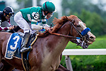 June 7, 2019 : #3, Catalina Cruiser, ridden by jockey Joel Rosario, wins the True North on Belmont Stakes Festival Friday at Belmont Park in Elmont, New York. Kaz Ishida/Eclipse Sportswire/CSM