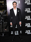 Chris Pine attends TheParamount Pictures' L.A. Premiere of Jack Ryan : Shadow Recruit held at The Chinese Theatre in Hollywood, California on January 15,2014                                                                               © 2014 Hollywood Press Agency