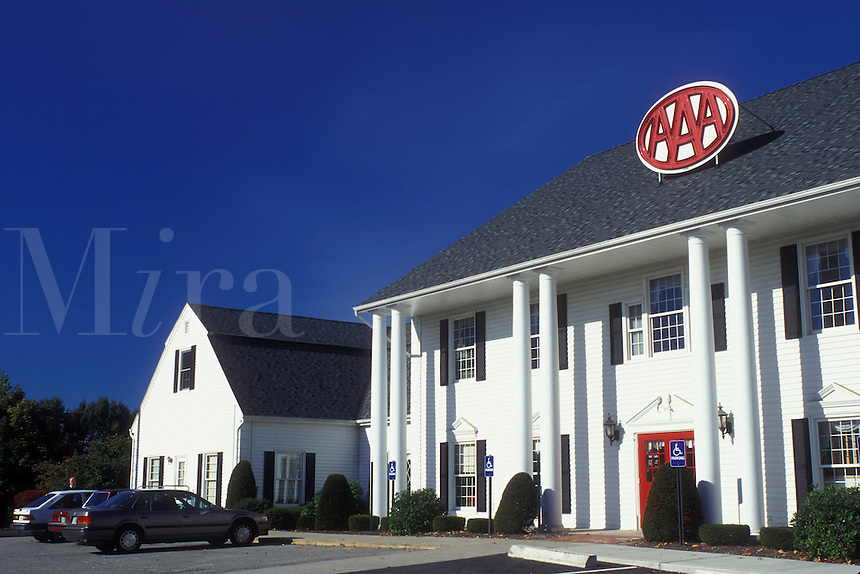 West Springfield, Massachusetts, AAA, The Automobile Club of America office in PioneerValley.