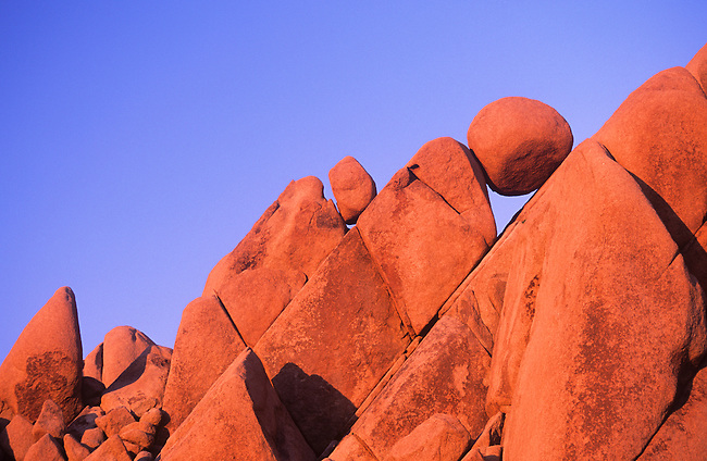 Erratic Rock Formations, Joshua Tree National Park, California