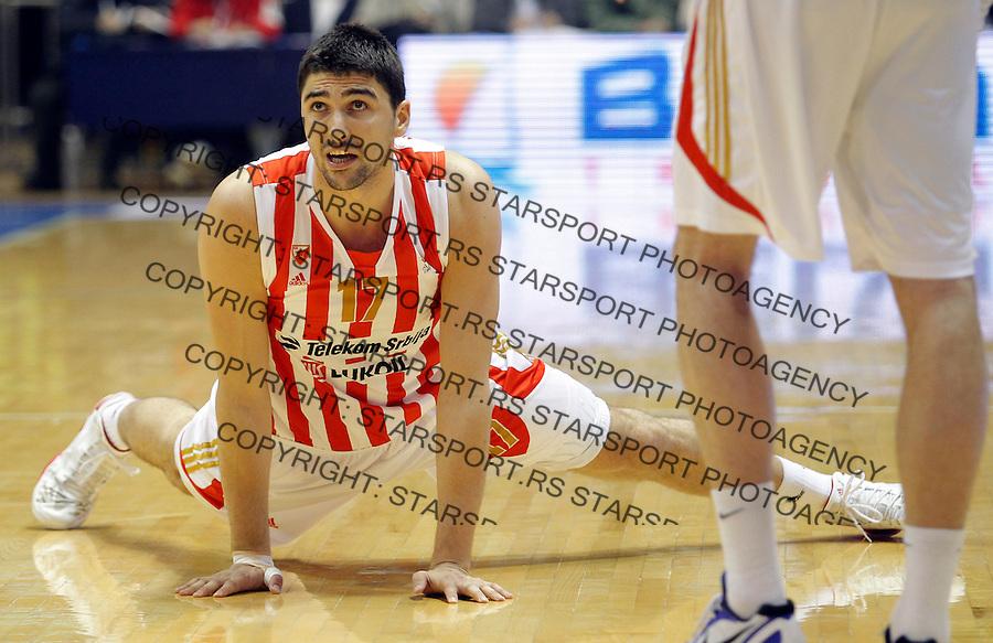 Kosarka ABA League season 2012-2013.Crvena Zvezda v Buducnost.Predrag Samardziski.Beograd, 03.16.2013..foto: Srdjan Stevanovic/Starsportphoto ©