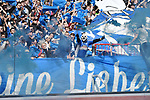 12.05.2019,  GER; 2. FBL, FC St. Pauli vs Vfl Bochum ,DFL REGULATIONS PROHIBIT ANY USE OF PHOTOGRAPHS AS IMAGE SEQUENCES AND/OR QUASI-VIDEO, im Bild  Feature die Bochumer Fans zuenden Pyrotechnik Foto © nordphoto / Witke *** Local Caption ***