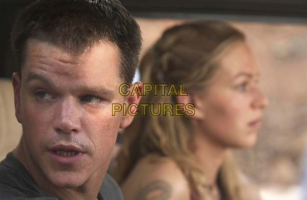 MATT DAMON & FRANKA POTENTE.in The Bourne Supremacy.*Editorial Use Only*.www.capitalpictures.com.sales@capitalpictures.com.Supplied by Capital Pictures.
