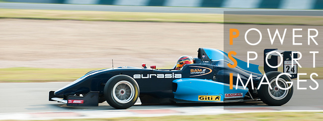 Aidan Read of Australia and Eurasia Motorsport during the Formula Masters China Series as part of the 2015 Pan Delta Super Racing Festival at Zhuhai International Circuit on September 19, 2015 in Zhuhai, China.  Photo by Moses Ng/Power Sport Images