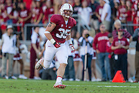 STANFORD, CA - NOVEMBER 23, 2013: Jarek Lancaster during Stanford's game against Cal. The Cardinal defeated the Bears 63-13.