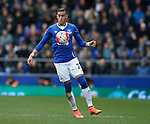 Ramiro Funes Mori of Everton during the Barclays Premier League match at The Goodison Park Stadium. Photo credit should read: Simon Bellis/Sportimage