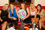 Lorraine Smith, Ciara McEvoy, Doreen Cullen, Claire Campbell and Clara Curran out for the night with Doreen as she celebrates her birthday in Bru.<br /> Picture: Shane Maguire / www.newsfile.ie