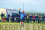 Richard Moloney playing the advantage rule during the Kerry v Cork IT semi final of the McGrath Cup at John Mitchells Grounds on Sunday.
