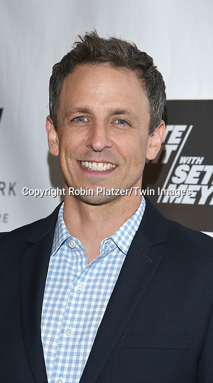 Seth Meyers attends the&quot;TV Guide Magazine&quot; Party for Cover Star Seth Meyers on June 14, 2016 at the W New York Hotel in New York City, New York, USA.<br /> <br /> photo by Robin Platzer/Twin Images<br />  <br /> phone number 212-935-0770