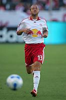 New York Red Bulls midfielder Clint Mathis (13). CD Chivas USA defeated the New York Red Bulls 3-0 in an MLS regular season match at the Home Depot Center, Carson, CA, on September 9, 2007.