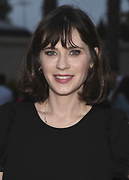 "CULVER CITY, CA - MAY 8:  Zooey Deschanel at Fox's ""New Girl"" screening and recpetion at the Little Theater at the Fox Lot on May 8, 2018 in Culver City, California. (Photo by Scott Kirkland/Fox/PictureGroup)"
