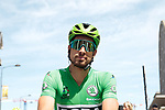 Green Jersey Peter Sagan (SVK) Bora-Hansgrohe lines up for Stage 4 of the 2019 Tour de France running 213.5km from Reims to Nancy, France. 9th July 2019.<br /> Picture: Colin Flockton | Cyclefile<br /> All photos usage must carry mandatory copyright credit (© Cyclefile | Colin Flockton)