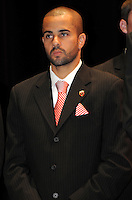 DC United midfielder Fred.   At the 6th Annual DC United Awards Presentation ,at the Atlas Performing Arts Center in Washington DC ,Wednesday October 27, 2009.