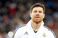 Real Madrid CF vs Athletic Club de Bilbao (5-1) at Santiago Bernabeu stadium. The picture shows Xabi Alonso. November 17, 2012. (ALTERPHOTOS/Caro Marin) NortePhoto
