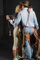 Western cowboy english riding romance novel cover photograph by Jenn LeBlanc and Studio Smexy