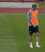 POLAND - Gniewino - 08 JUNE 2012 - Spanish National Team Training Session at Gniewino. Spanish forward Fernando Torres.