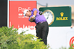 Graeme McDowell tees off on the 14th hole during the Final Day of the Dubai World Championship, Earth Course, Jumeirah Golf Estates, Dubai, 28th November 2010..(Picture Eoin Clarke/www.golffile.ie)