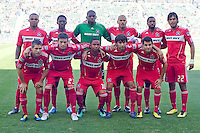 Chicago Fire starting eleven. The Chicago Fire beat the LA Galaxy 3-2 at Home Depot Center stadium in Carson, California on Sunday August 1, 2010.