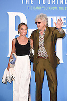 "Sir Bob Geldof and Jeanne Marine<br /> at the Special Screening of The Beatles Eight Days A Week: The Touring Years"" at the Odeon Leicester Square, London.<br /> <br /> <br /> ©Ash Knotek  D3154  15/09/2016"