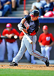 4 March 2011: Atlanta Braves outfielder Matt Young in action during a Spring Training game against the Washington Nationals at Space Coast Stadium in Viera, Florida. The Braves defeated the Nationals 6-4 in Grapefruit League action. Mandatory Credit: Ed Wolfstein Photo