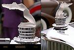 Lalique Crystal Mascot, 1931 Deusenberg model J, Pebble Beach Concours d'Elegance