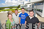 The ITT Student union, pictured at the college on Friday, from left: Mary McCoy (Secretary), Kenneth Reynolds (Vice President of Welfare), Michael Thompson (President) and Niall Harty (Vice President Education).